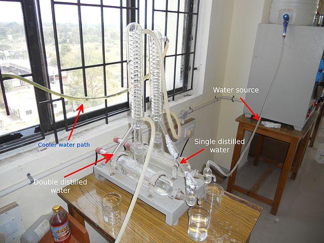 Distilled Water set-up