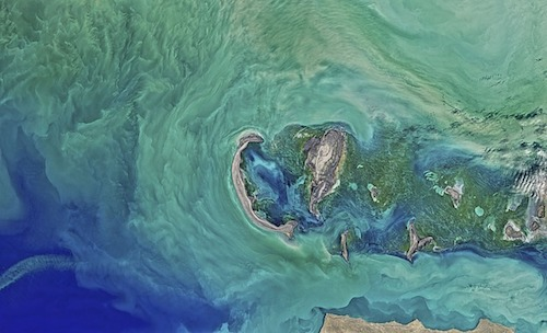 caspian-sea from space