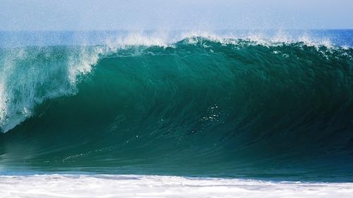 ocean-big wave
