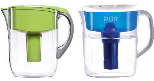 PUR versus Brita pitchers